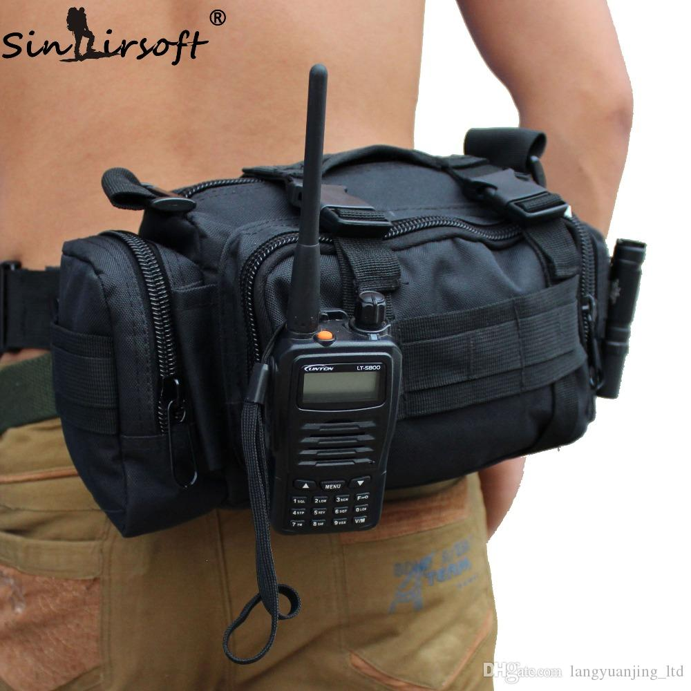90ce749b6754 2019 SINAIRSOFT Outdoor Tactical 3L Waist Bag Climbing Adventure Packge MOLLE  Bags Multi Function Fishing Hiking Camping Backpacks Gear From ...