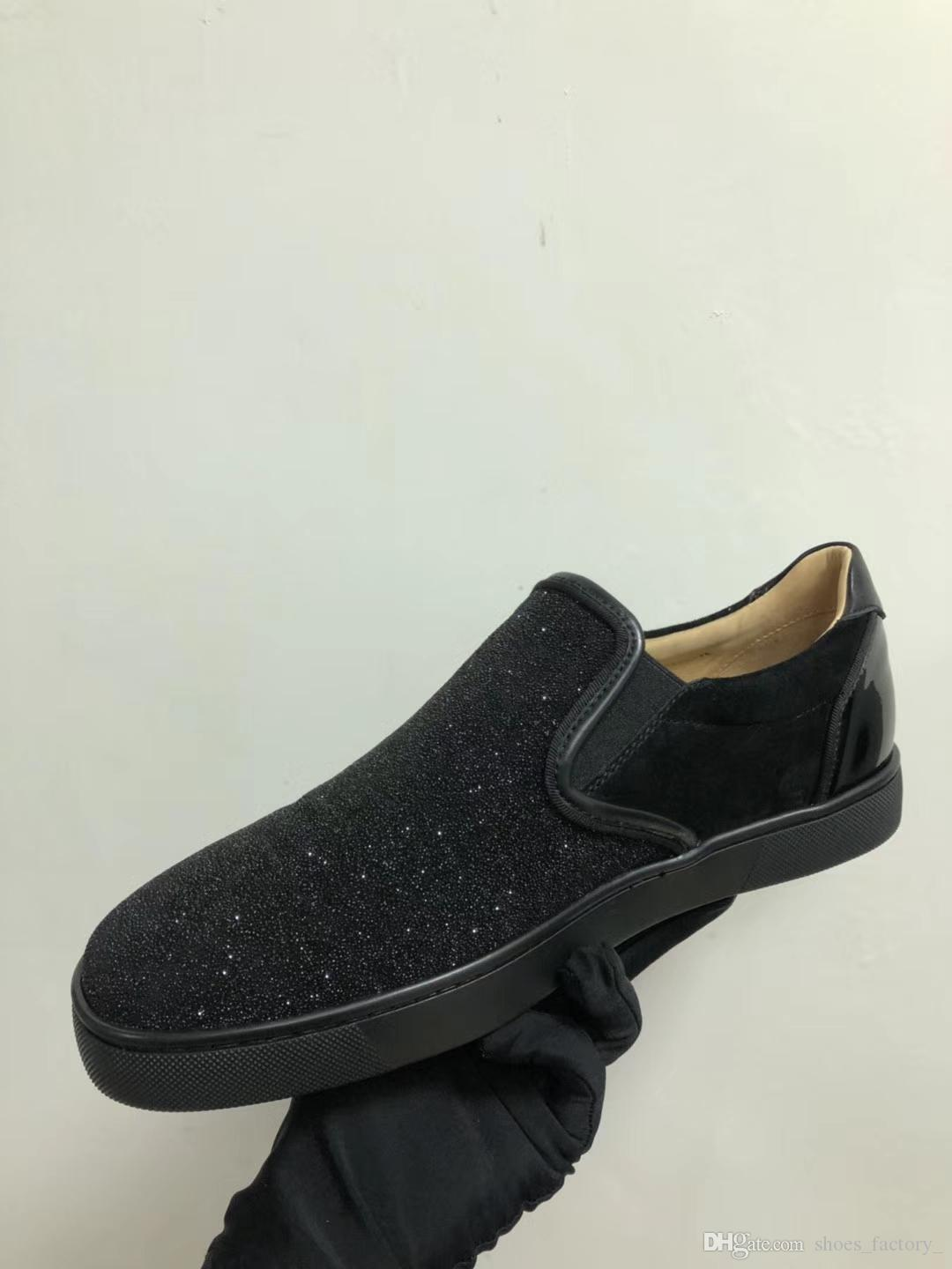 1351690bf00 2018 Top Black Patent Loafers Shoes For Men