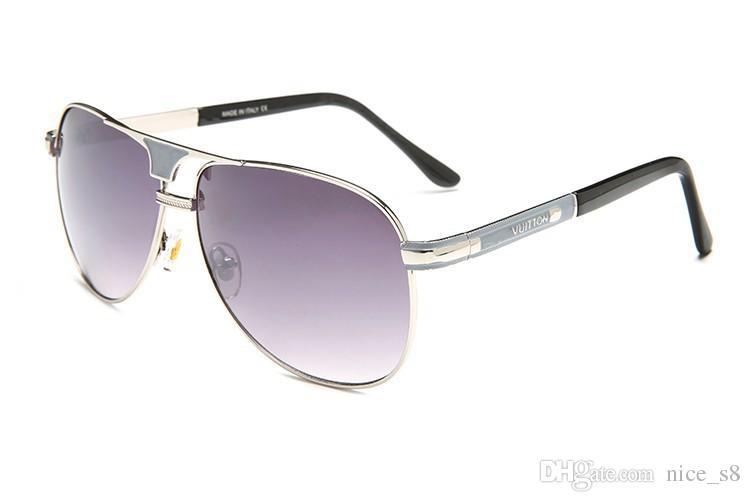 1399a208645f2 Compre Mais Novo Polarizada 9017 Óculos De Sol Dos Homens Da Aviação De  Condução Tons De Óculos De Sol Feminino Para Homens Retro Barato Designer  De Marca ...