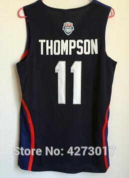 1243ed41d ... clearance 2019 2016 dream team twelve usa 11 klay thompson basketball  jerseys cheap all stitched sleeveless