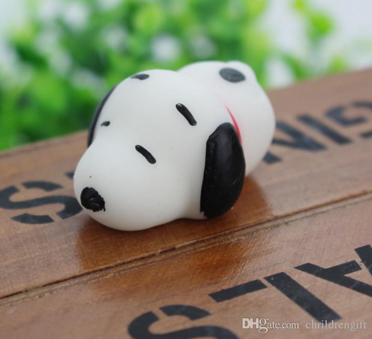 Moda juguetes de ventilación suave Squishy Slow Rising Jumbo juguete Bun juguetes de dibujos animados de juguete Mini Snoopy descompresión juguete Squishiy moda Rare Animal