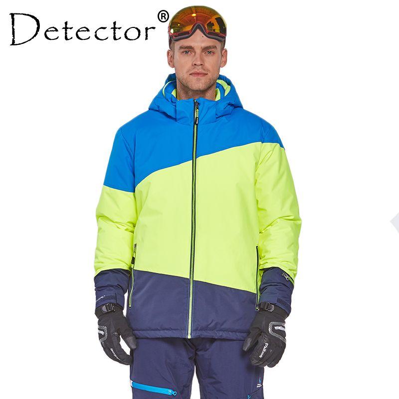 2019 Detector Men S Ski Jacket Print Winter Outdoor Ski Suit Height  Waterproof Breathable Jacket Warm Snowboard Coat From Masn fc2714ed5