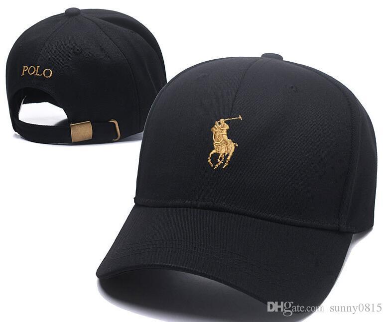 70013b2027f 2018 Wholesale Baseball Cap 100% Cotton Sports Caps Adjustable Hats For Men Hip  Hop Panel Snapback Caps Polo Bone Casquette Visor Gorras Hat Hats For Sale  ...
