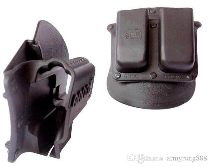 Pistolet Evolution Holster Paddle GL GL-2 ND Pour Glock 17/19/22/23/27/31/32/34/35 Pochette Double 6900RP