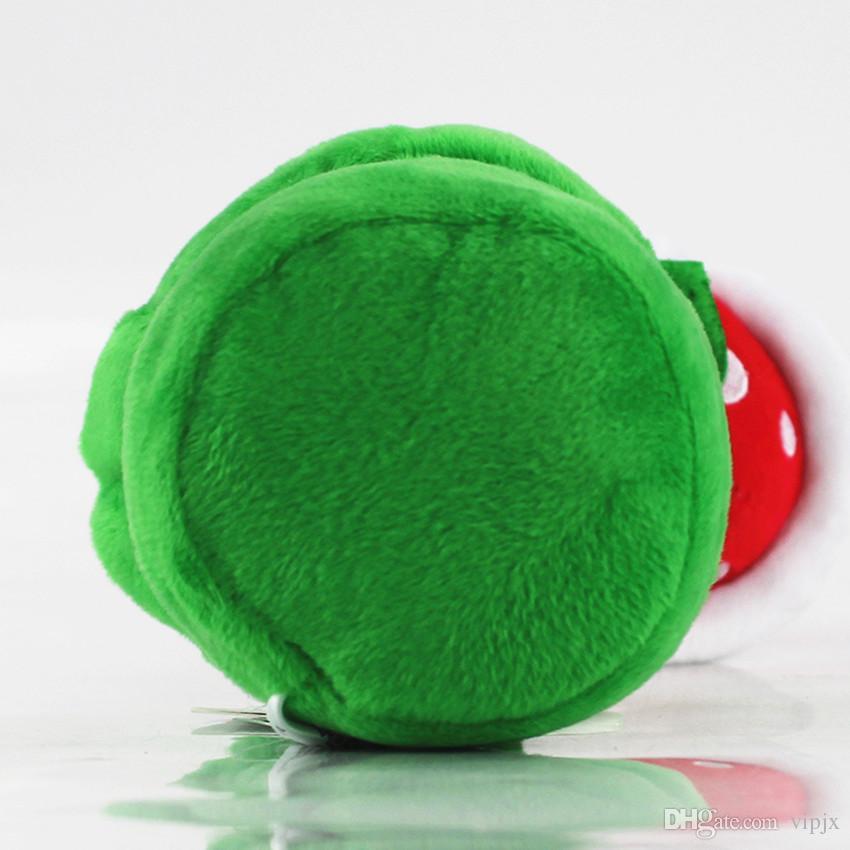 25cm Super Mario Plush Piranha Plant Super Mario Bros. Plush Stuffed Animal Doll gift DDF
