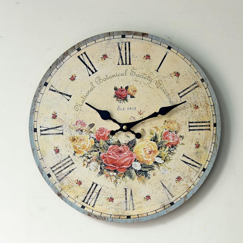 2f758711ee3 Compre Relógio De Parede De Parede Relogio De Parede Relogio De Parede  Relógio De Parede Relógios De Parede Relogio De Parede Duvar Saati Vintage  Wood Klok ...