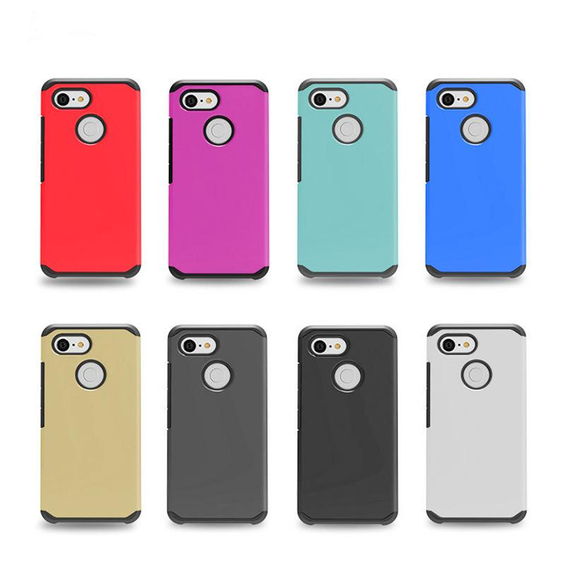 wholesale dealer c57cd 81ddd Hybrid Cover For Google Pixel 3 XL For motorola moto Z3 play Armor Phone  Case 2 in 1 case with opp bags C