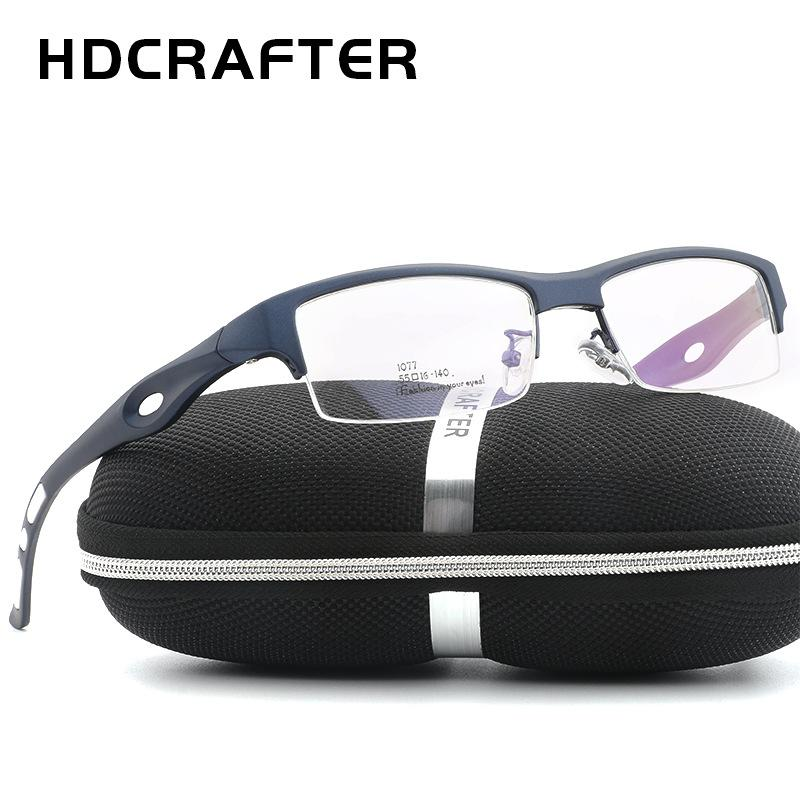Compre Marco De Gafas De Titanio Atractivo Para Hombre Distintivo ...