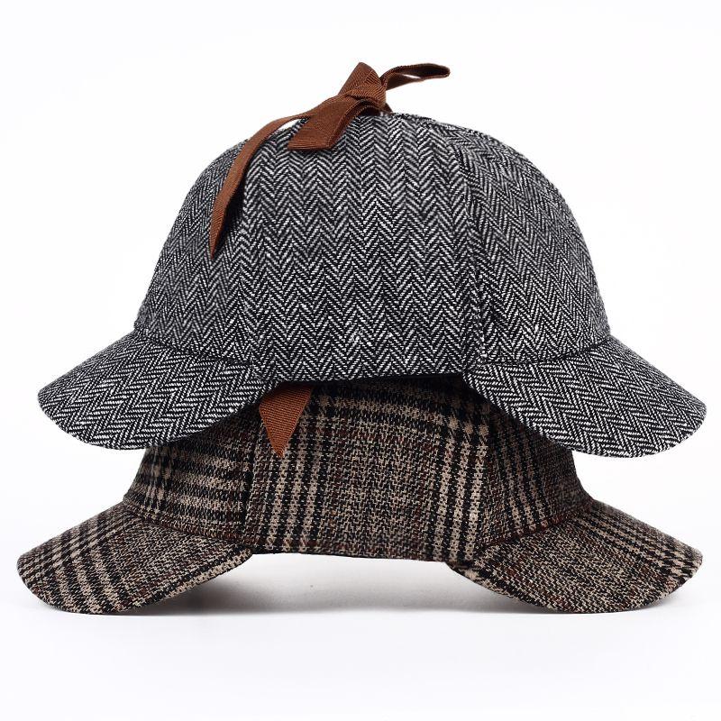 Compre New Sherlock Holmes Detetive Chapéu Bonés De Beisebol Bucket Hat  Casquette Snapback Chapéus De Grife Pai Chapéu Cabido Chapéus Mulheres Mens  Chapéus ... b6655889224