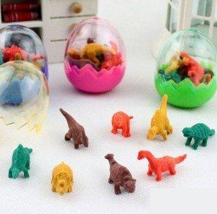 Hot sale . Antique Antique simulation dinosaur egg eraser. pens child pencil eraser.rubber.kid toys giftss.office and study ne