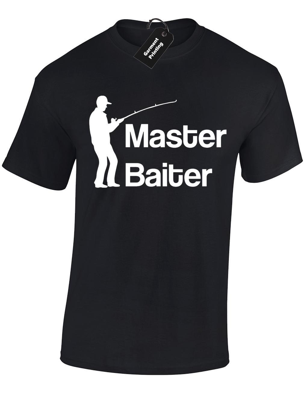 49f65de3c MASTER BAITER MENS T SHIRT FUNNY FISHERMAN FISHING GIFT PRESENT IDEA TOP S  5XL Ridiculous T Shirts One Day T Shirts From Amesion34, $12.08| DHgate.Com