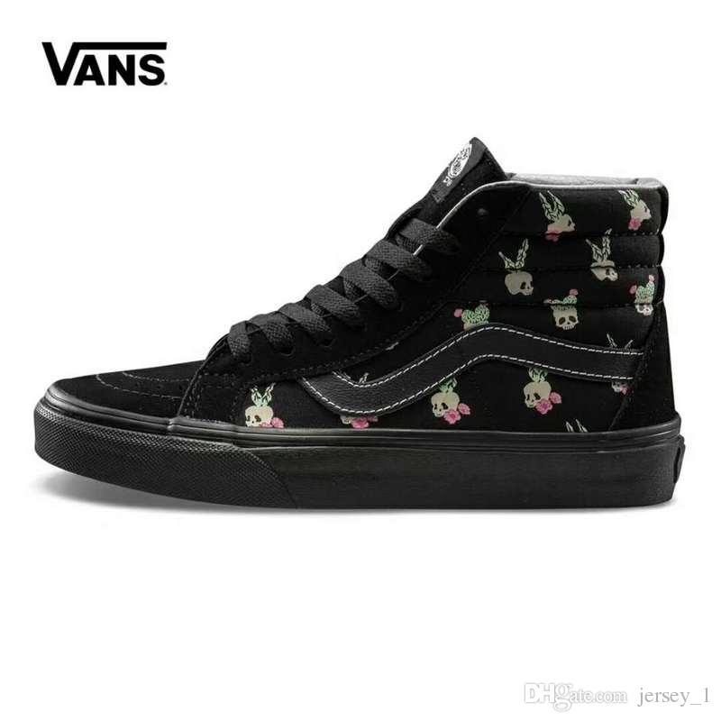 womens black vans high tops