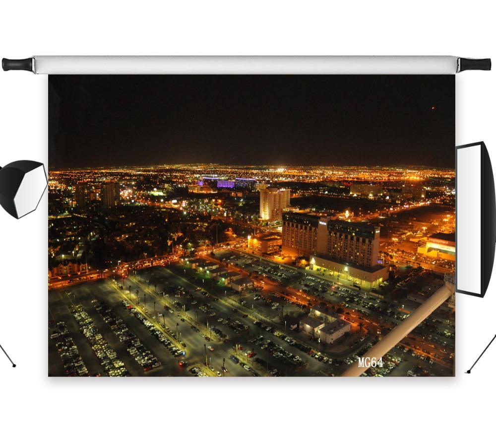 Satın Al Polyester Vinil Hareketli şehir Gece Arka Planında Arka