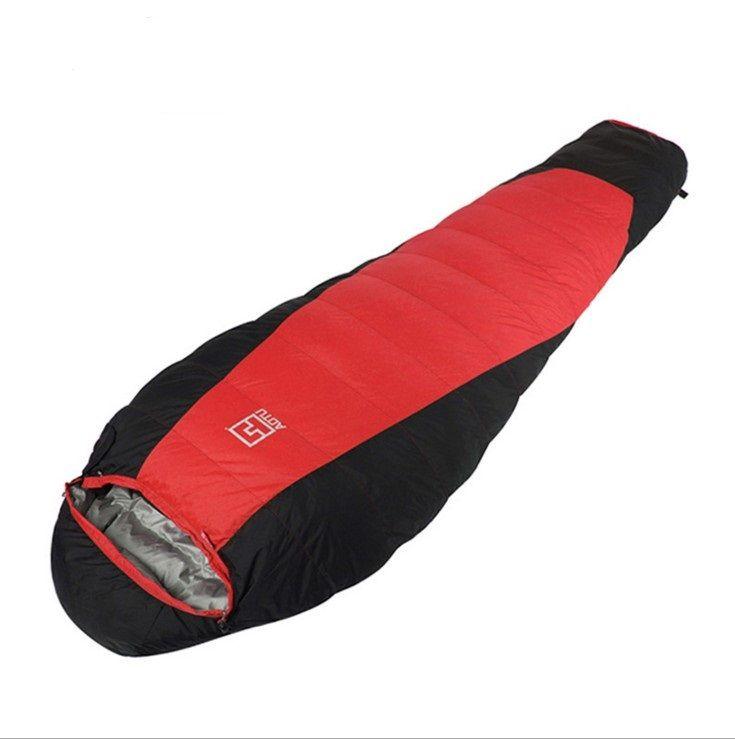 Outdoor Light Eider Down Sleeping Bag Thickened Warm Winter 248e6ae1f