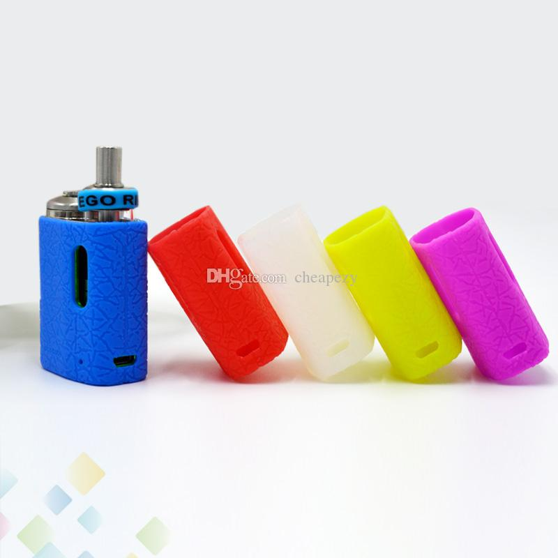 Pico Baby Silicon Case Leather Line Surface Skin Cases Colorful Soft Silicone Sleeve Cover Single Package E Cigarette DHL Free