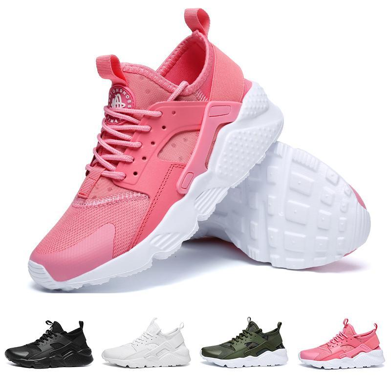 free shipping 08d12 4e88f Compre 2018 Venta Caliente Air Huarache Zapatos Casuales Huaraches Rainbow  Ultra Transpirable Zapatos Para Mujer Para Hombre Huraches Multicolor  Hurache ...