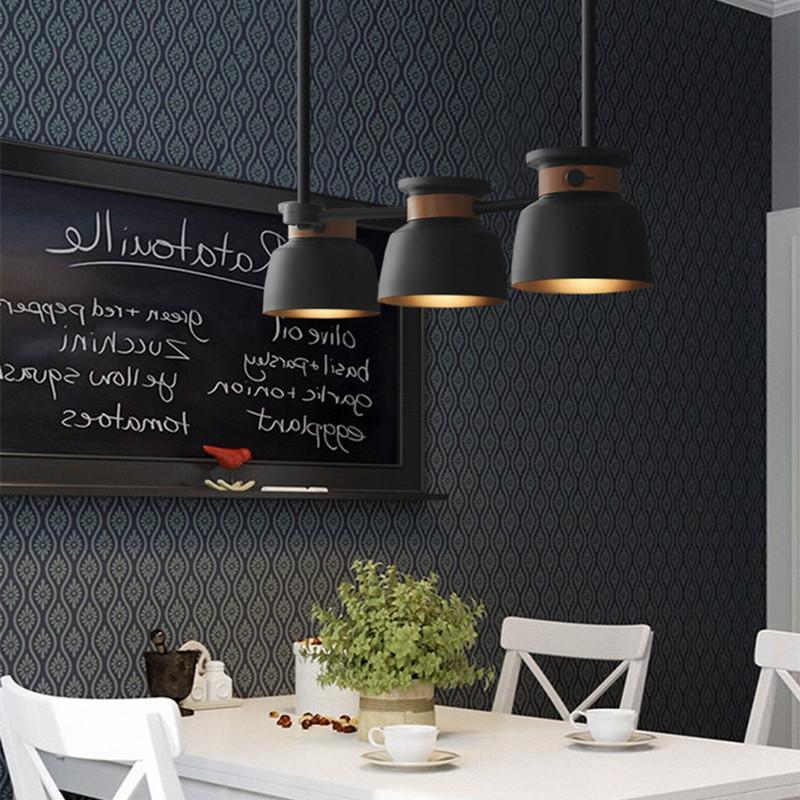 Compre Nordic Art Saul Chandelier 3 Luces Comedor Light Bar ...