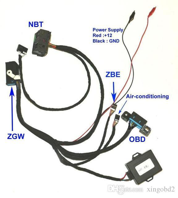 for BMW F01 F02 F10 F18 F25 Fxx NBT Ignition Emulator to ZGW For CAS4  Ignition ON Ignition Emulator