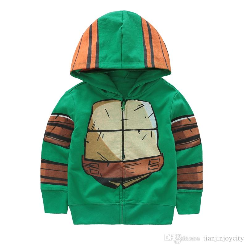 bfbea4870 Cute Cartoon Turtle Spring Children Coat Autumn Kids Jacket Boys ...