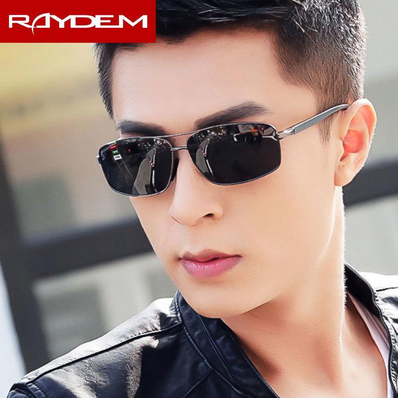 955f3ba889 Compre Raydem 2018 Gafas De Sol De Los Hombres Polarizados De Aluminio,  Magnesio, Marco Rectangular, Gafas De Sol, Gafas De Conductor, Gafas  Masculinas ...
