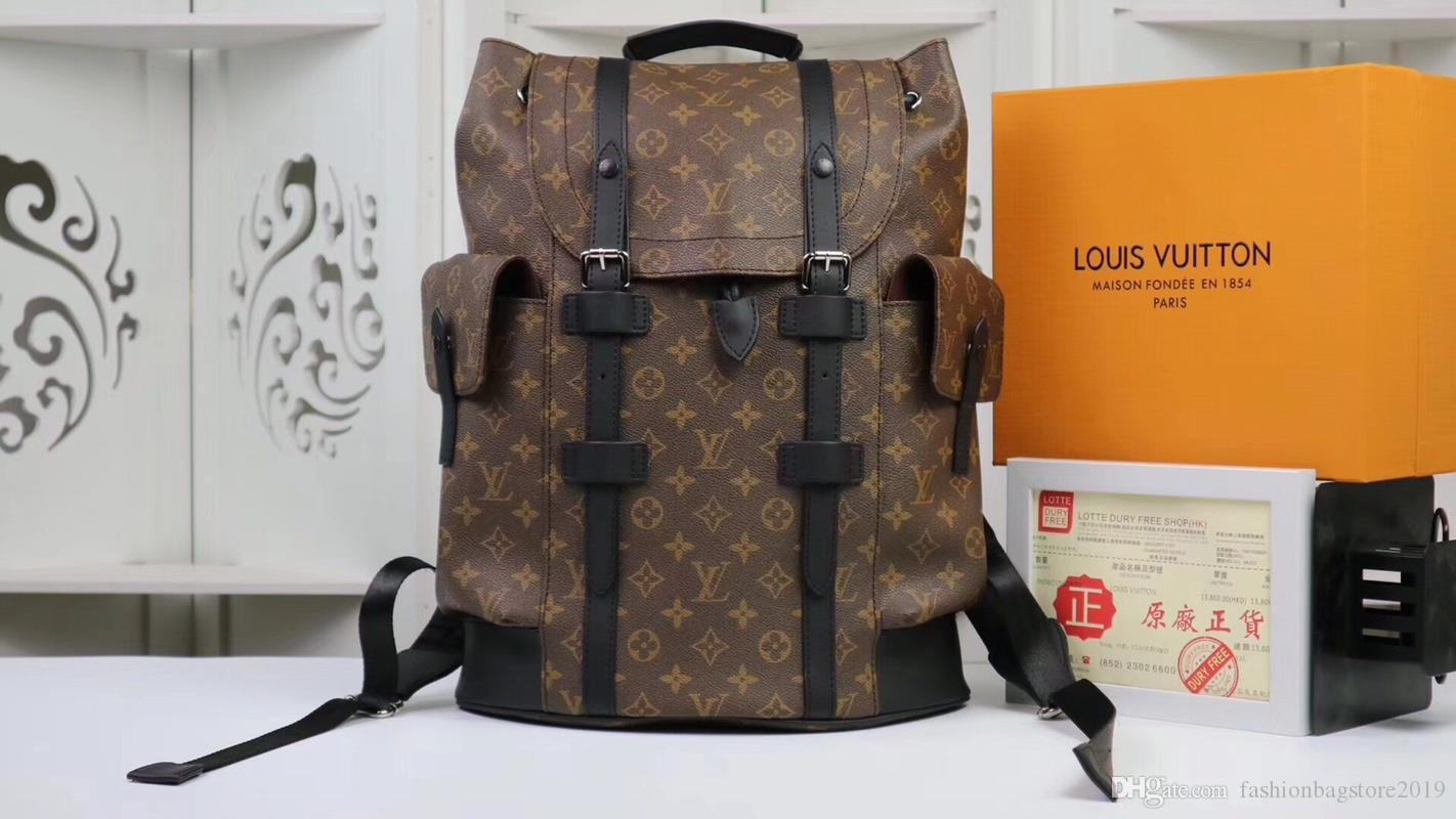 Luxury Brand Designer Backpack Leather Fashion Travel Bag Computer Bag  Classic Retro 41.0 X 47.0 X 13.0 CmM41735 Wheeled Backpacks Leather  Backpacks From ... 6afd4a9aa8b