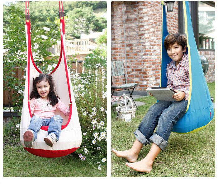 7ad7b2214321 2019 New Baby Hammock Pod Swing Hanging Chair Reading Nook Tent ...