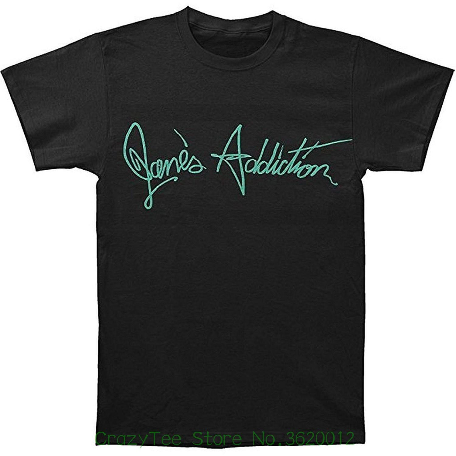 2b3ab8dae Short Sleeves New Fashion T-shirt Men Clothing Jane's Addiction ...