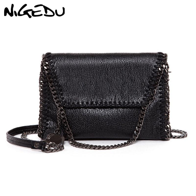 308e4a7ba842 NIGEDU Fashion Tassel Clutch Bag Brand Chain Women Messenger Bag Female  Shoulder Black Luxury Evening Bags Bolsas Clutches Designer Bags Ladies  Handbags ...