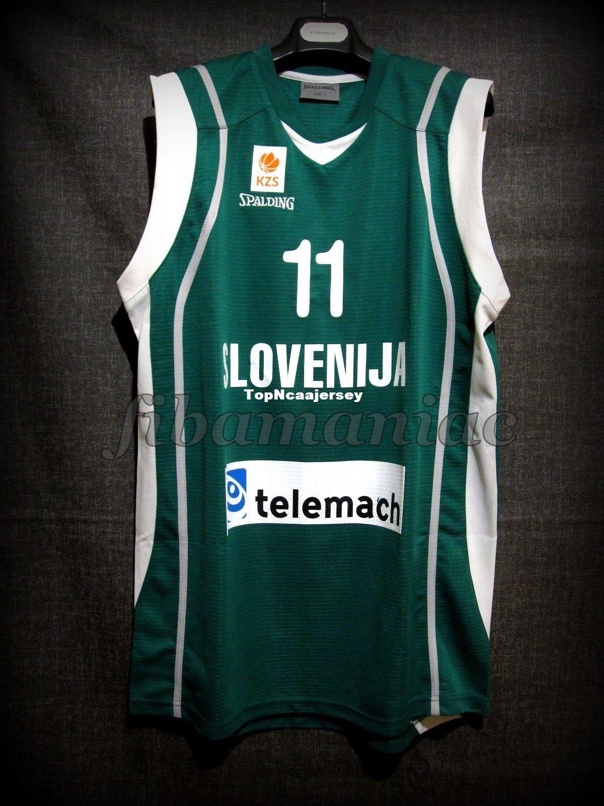 2019 Cheap FIBA GORAN DRAGIC  11 SLOVENIA NATIONAL TEAM GENUINE JERSEY High  Quality Sewn Mens Vest Top Size XS 6XL Stitched Basketball Jerseys From ... 5d14a2534