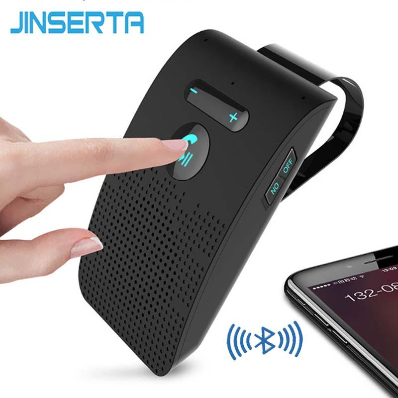 2019 jinserta bluetooth handsfree car kit wireless auto speakerphone2019 jinserta bluetooth handsfree car kit wireless auto speakerphone carkit sun visor speaker for car phone hands free music player from yaseri,
