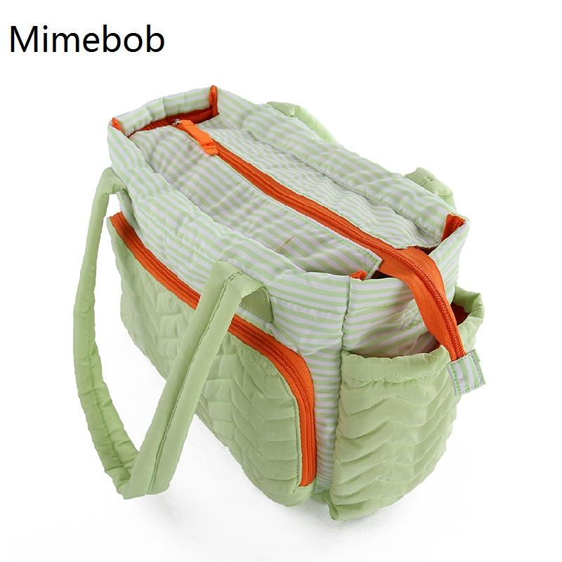 2019 Stripe Large Bag Women Mummy Duffel Bag High Quality Baby Diaper With Pad  Mommy Baby Nappy Care Maternity Mom Travel From Gaozang,  36.14   DHgate.Com 66784759b2