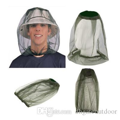 Net Mosquito Insect Hat Mesh Midge Insect Camping Bug Hat Protector Head Travel Face Mosquito for Travel Camping Outdoor Gear Kit