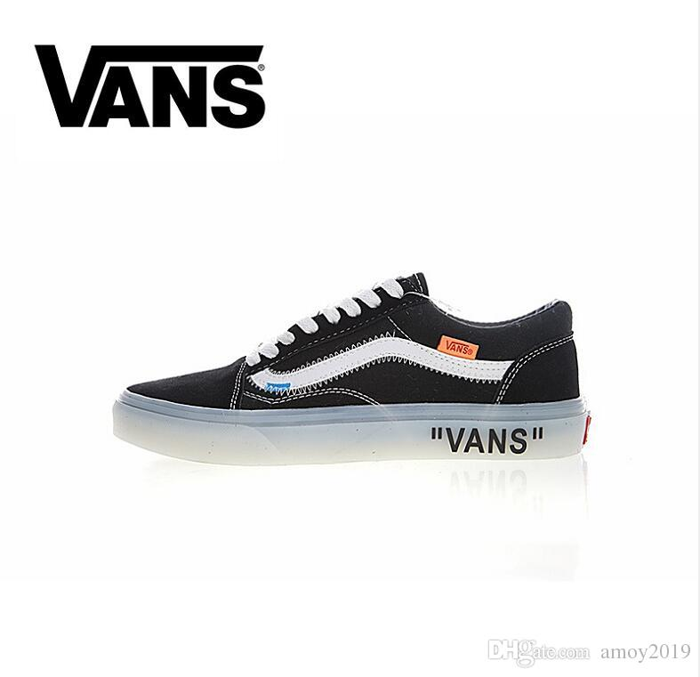 buy cheap newest New Athentic Vans Off The Wall Old Skool Canvas Mens Designer Running Shoes Men Skate Zapatillas de deporte Sneakers Women Casual Trainers shopping discounts online low cost with paypal newest for sale koCGBM