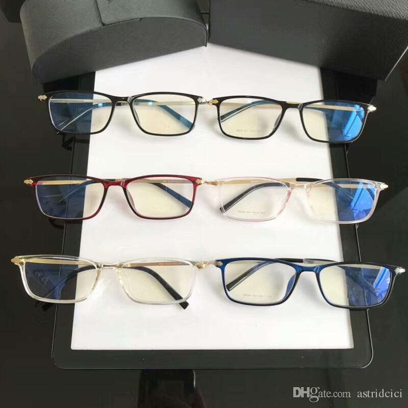 036e0c199c 2019 Brand Designer Eyeglasses Luxury Glasses Frames Ultralight Optical Eye  Glasses Frame Men Women Eyeglasses Spectacle Coating Plain Lens Black  Eyeglasses ...
