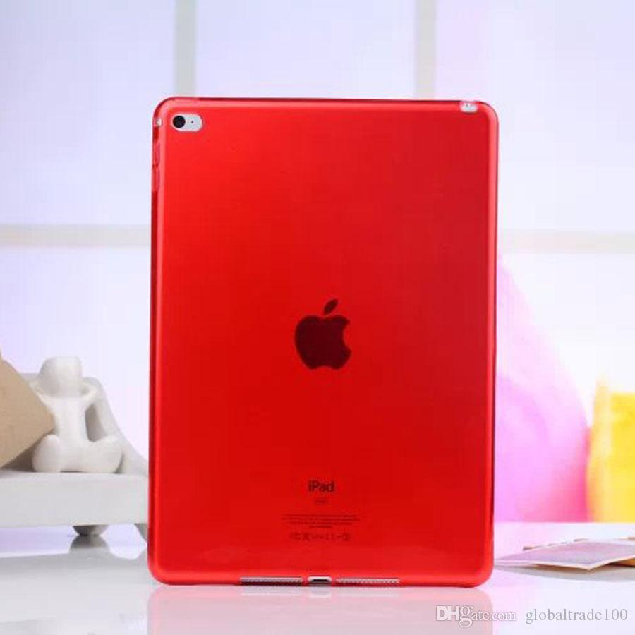 Soft TPU Cover for iPad 9.7 2017 Case Silicone Transparent Slim Clear Cover for iPad 5 6 Air 2 iPad mini 4