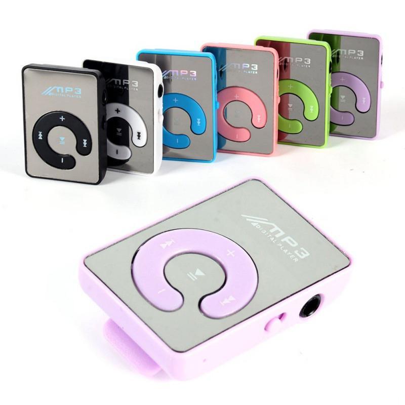 Tragbares Audio & Video Neue Mini Spiegel Clip Usb Digital Mp3 Musik-player Unterstützung 8 Gb Sd Tf Karte 6 Farben A57