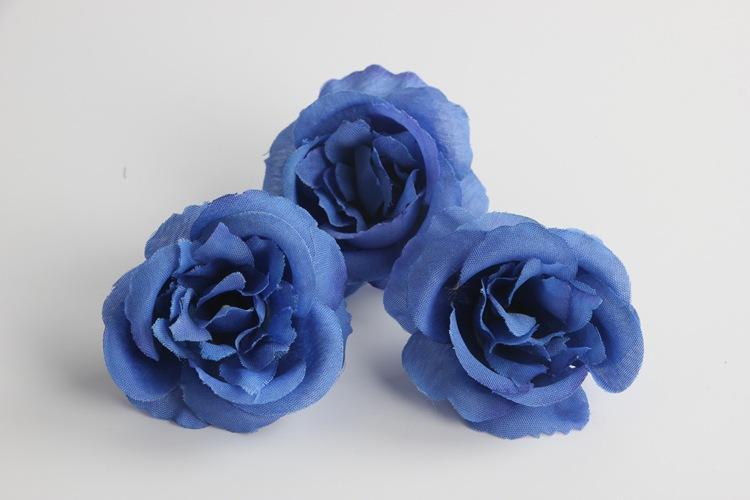 Flores artificiales Rosas negras que buscan rosas falsas DIY Ramos de la boda Centros de mesa Arreglos Party Home negro