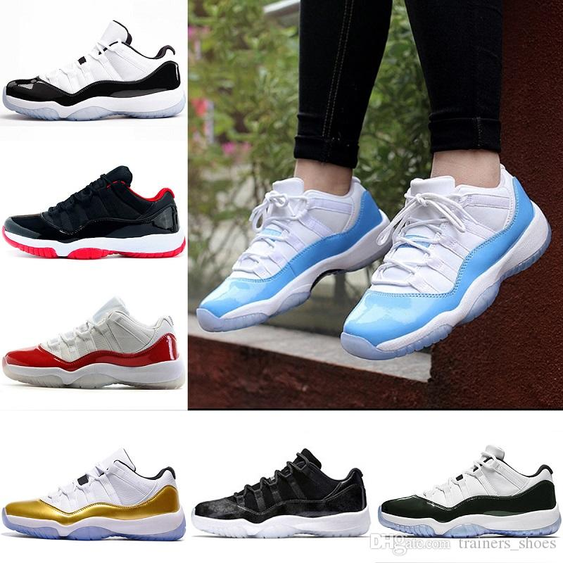 6df3cf302ee05f 2018 Mens 11 11s Iridescent Basketball Shoes UNC Navy Gym Red Space ...