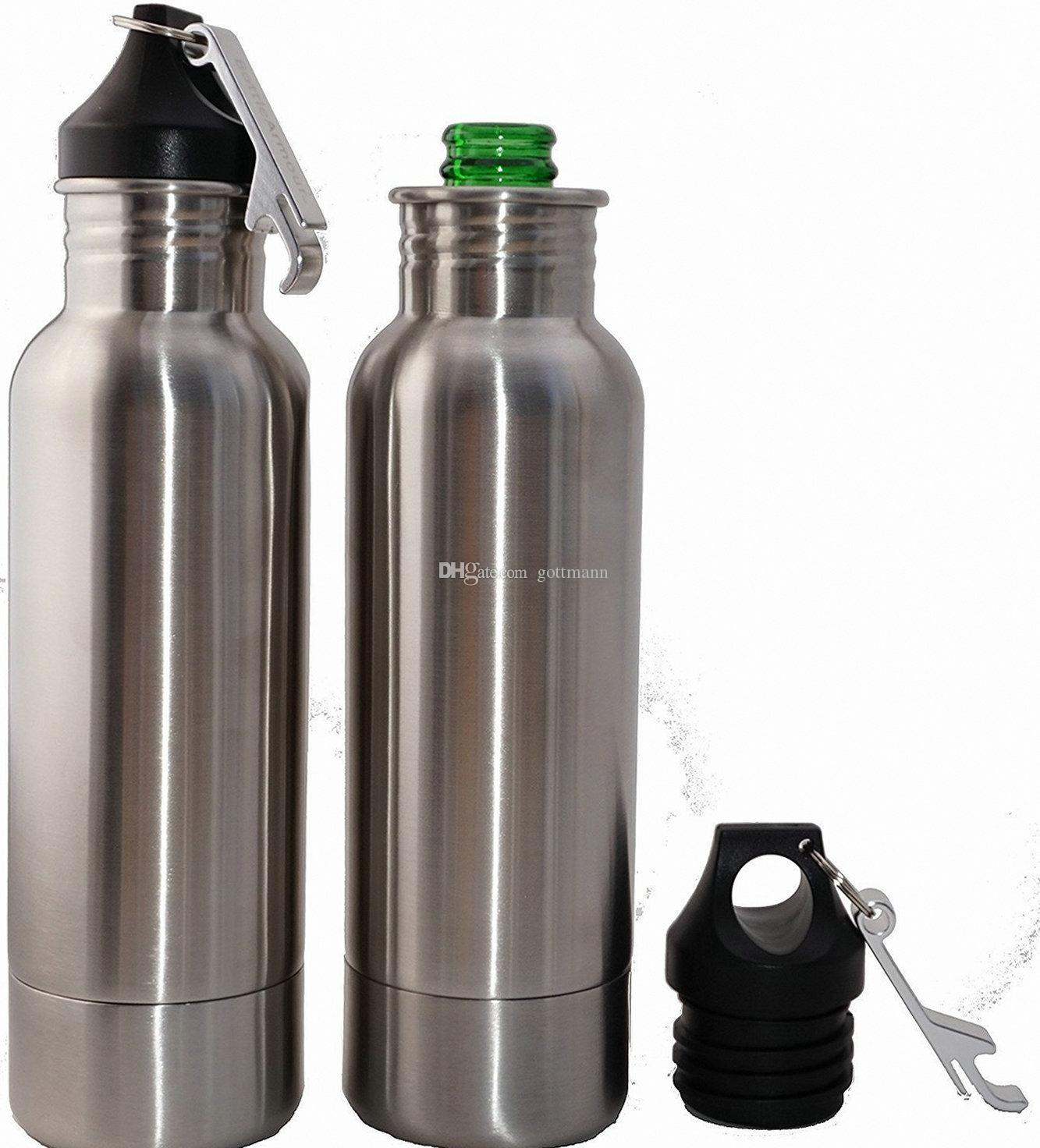 2019 Beer Bottle Cooler Stainless Steel Bottle Insulator