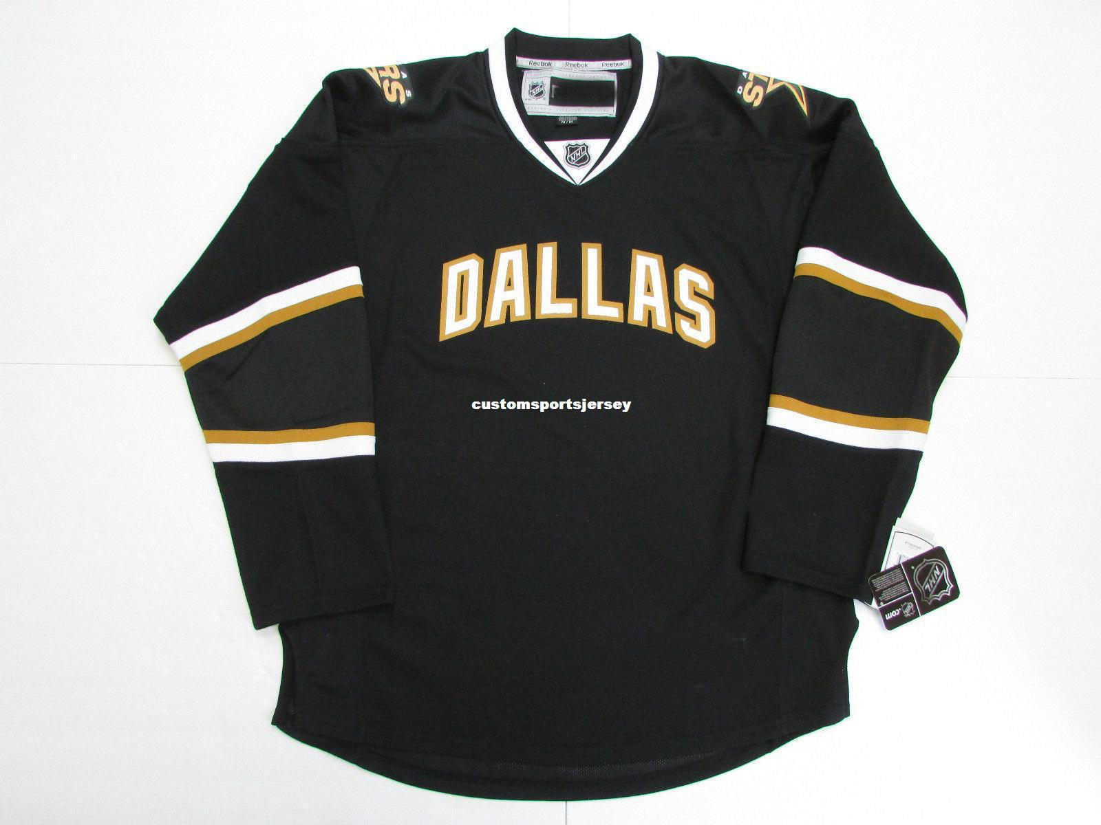 4bf2410f9 2019 Cheap Custom DALLAS STARS VINTAGE BLACK PREMIER 7185 HOCKEY JERSEY  Stitch Add Any Number Any Name Mens Hockey Jersey XS 5XL From  Customsportsjersey
