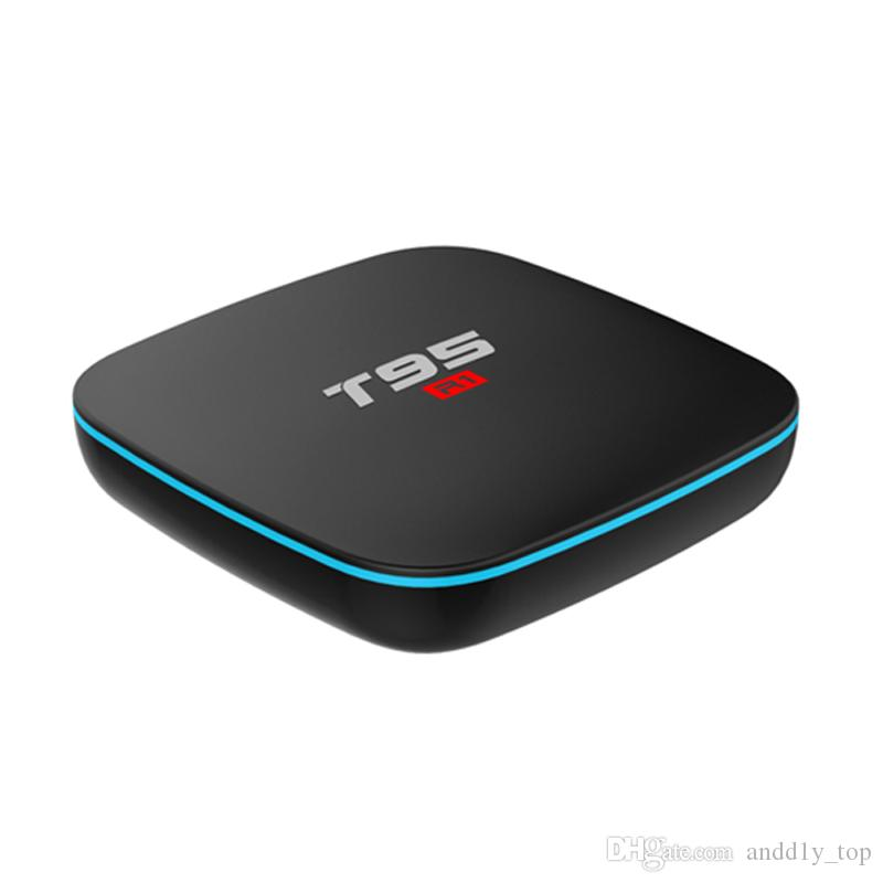 Android T95 R1 Quad Core Amlogic S905W Android 7.1 TV Box APP 17.6 Árabe IPTV Streaming Media Player