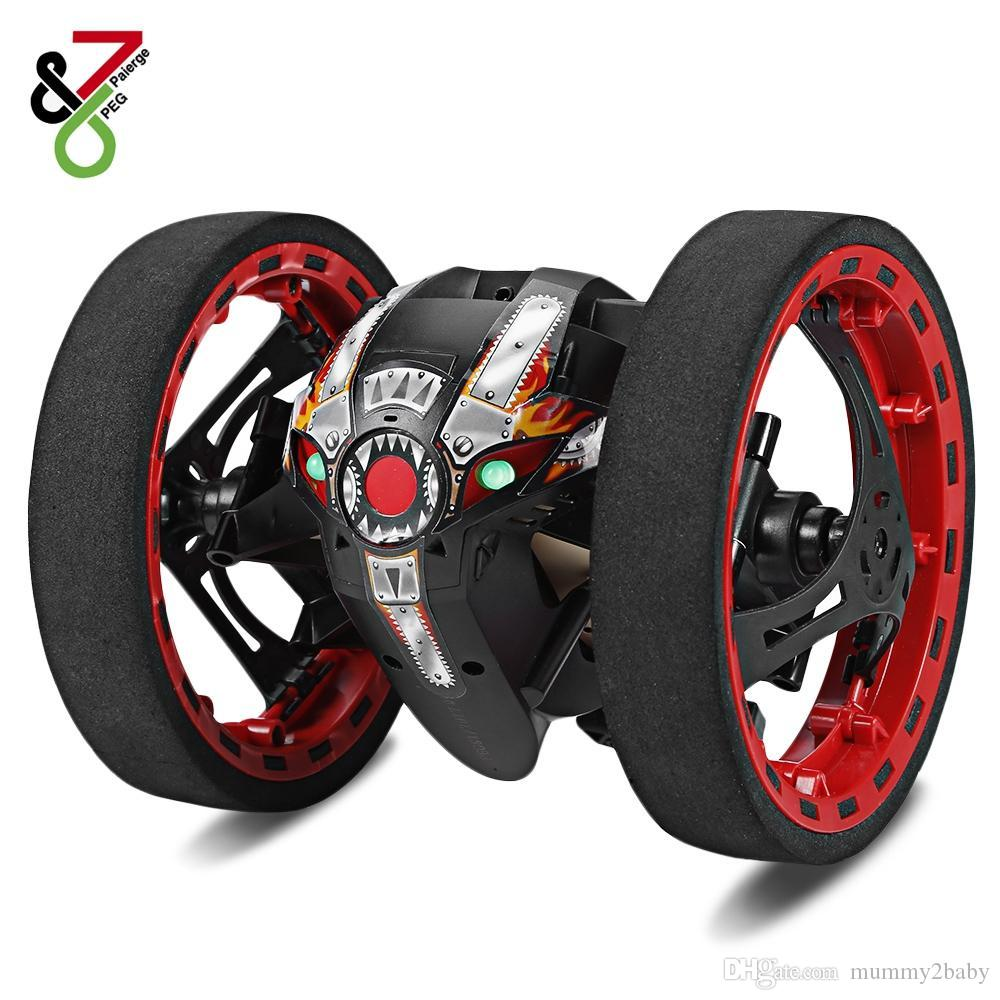 Remote Control Toys Toys & Hobbies Fashion Gift Wifi Fpv Real Time Bounce Rc Stunt Vedio Car 4ch 2.4ghz Jumping Remote Control Add Wifi Camera App Control Car Toy