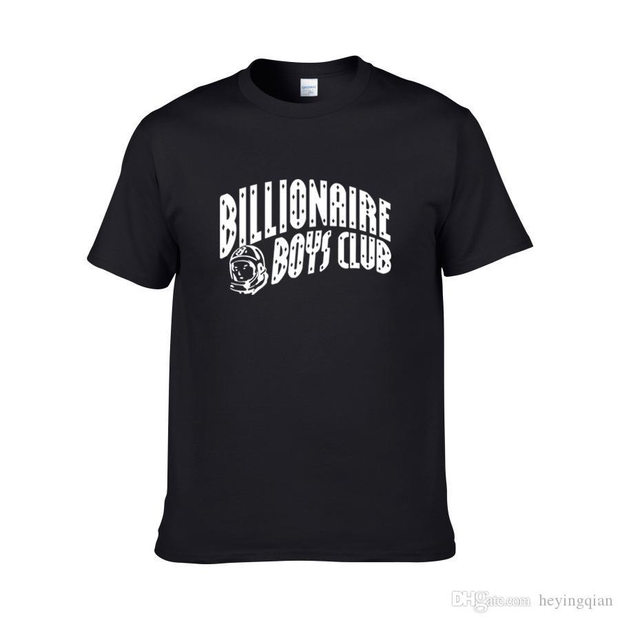 2018 nouvel été marque vêtements O col impression T-shirt des hommes de la jeunesse Hip Hop T-shirt 100% d'hommes de mode de coton T-shirts