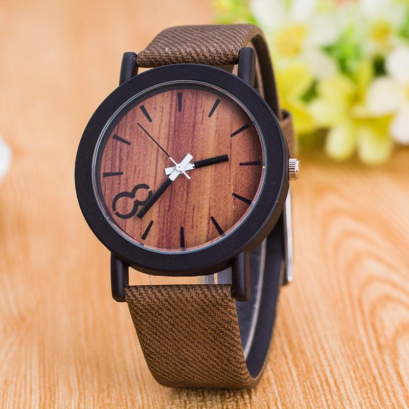 products mahogany minimalist wood cognac original gold grain watches blue