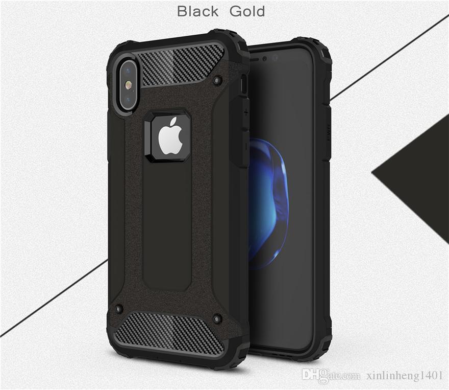 Protección a prueba de choques de la caja del teléfono del estilo del amante de Bestsin Transformer para Iphone 6 a Iphone X DHL libre