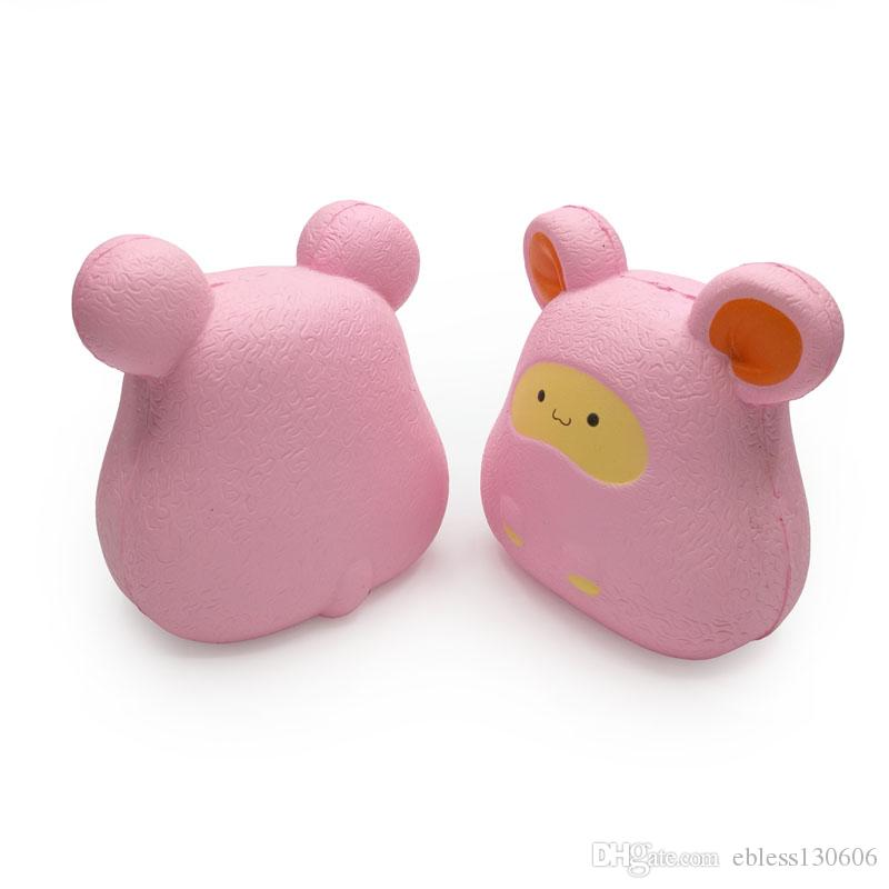 Jumbo squishy big Kaka rat wholesale 10cm simulation animal kawaii mouse is fragrant and soft the Cute squishies Decompression Toy