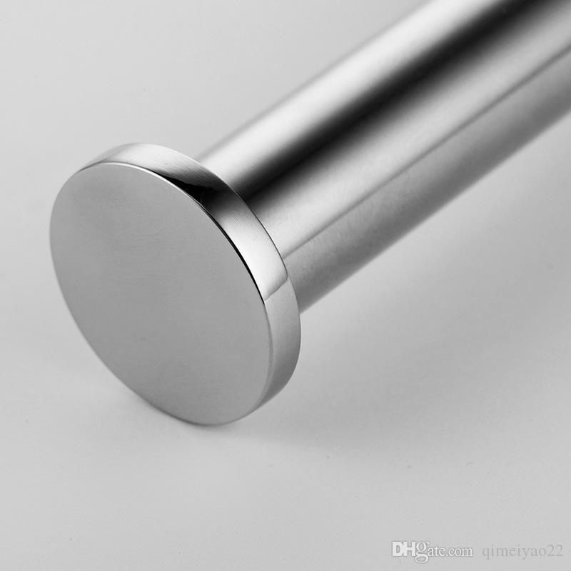 Edelstahl-Rollenhalter Küchen Aufhänger Gewebe-Rollenhandtuchhalter WC Badezimmer-Zubehör Hanging Organizer-Speicher-Halter