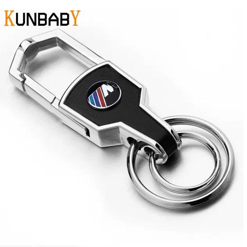 großhandel kunbaby keychain silber leder auto schlüsselanhänger