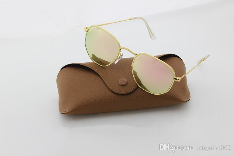 2018 Hot Deals High Quality UV400 Gothic Steampunk Mens Sunglasses Coating Mirrored Sunglasses Round Circle Sun glasses Retro Vintage G