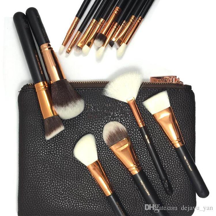 Free DHL New Brand Z-O-E-V-A Brush Professional Makeup Brush Set Eyeshadow Eyeliner Blending Pencil Cosmetics Tools With Bag